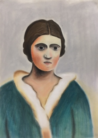 Portrait of a Woman (1923) (Redrawn)